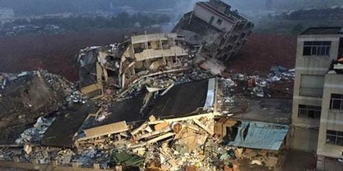 Thông tin mới nhất vụ lở núi kinh hoàng ở Trung Quốc