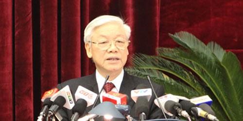 Bài phát biểu quan trọng bế mạc Hội nghị Trung ương của Tổng Bí thư