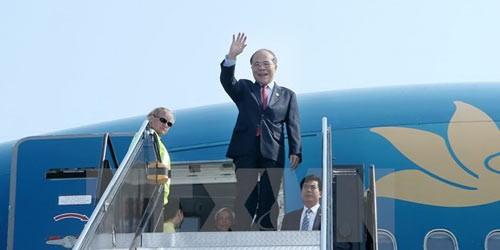 Ngày mai, Chủ tịch Quốc hội bắt đầu thăm hữu nghị chính thức Trung Quốc
