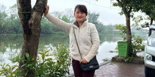 Nguyễn Thị Hồng Thắm, nhân viên Trạm thu phí cầu Bến Thủy mất tích đã 9 ngày nay.