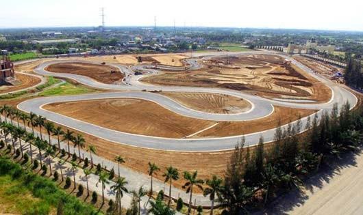 Trường đua xe quốc tế đầu tiên ra mắt tại Việt Nam