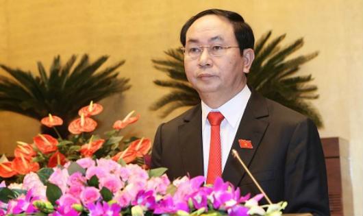 Chủ tịch nước Trần Đại Quang. Ảnh: TTX