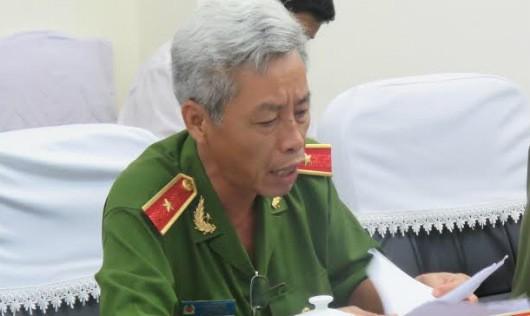 Thiếu tướng Phan Anh Minh – Phó giám đốc Công an TP HCM.