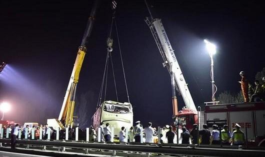 Tai nạn thảm khốc tại Trung Quốc