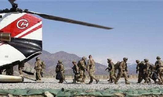 Mỹ sẽ để lại 8.400 lính tại Afghanistan