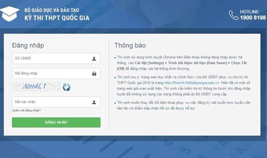 Cảnh báo website giả mạo đánh cắp dữ liệu thí sinh
