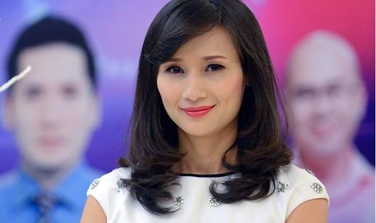Bà Lê Bình tại sự kiện ra mắt VTV24. Ảnh: Anh Tuấn.