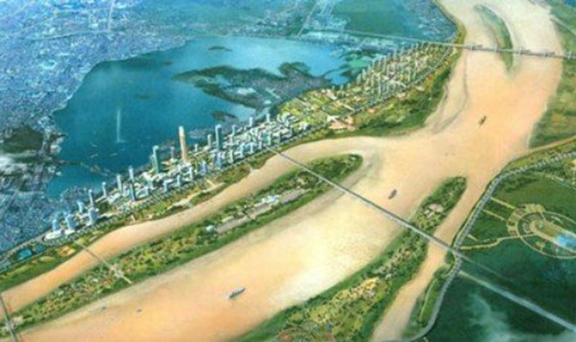Tái khởi động dự án 'siêu đô thị' bên sông Hồng
