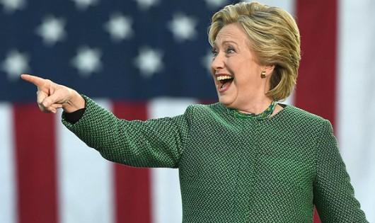 Ứng cử viên tổng thống đảng Dân chủ Hillary Clinton đang chiếm ưu thế trong bầu cử sớm. (Nguồn: Getty)