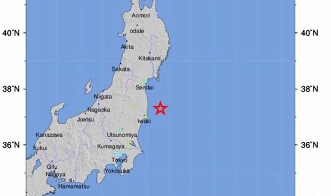 Động đất mạnh kéo theo sóng thần ở Nhật, nhiều người bị thương