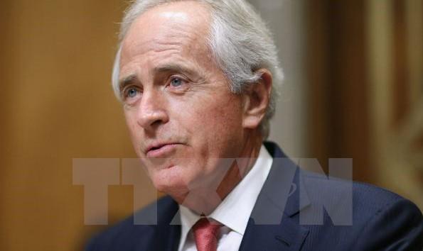 Chủ tịch Ủy ban Đối ngoại của Thượng viện Mỹ Bob Corker. (Nguồn: AFP/TTXVN)