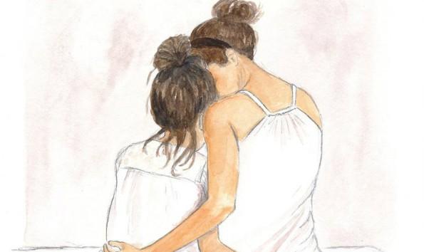 Mẹ và con gái hãy là những người bạn tâm giao.