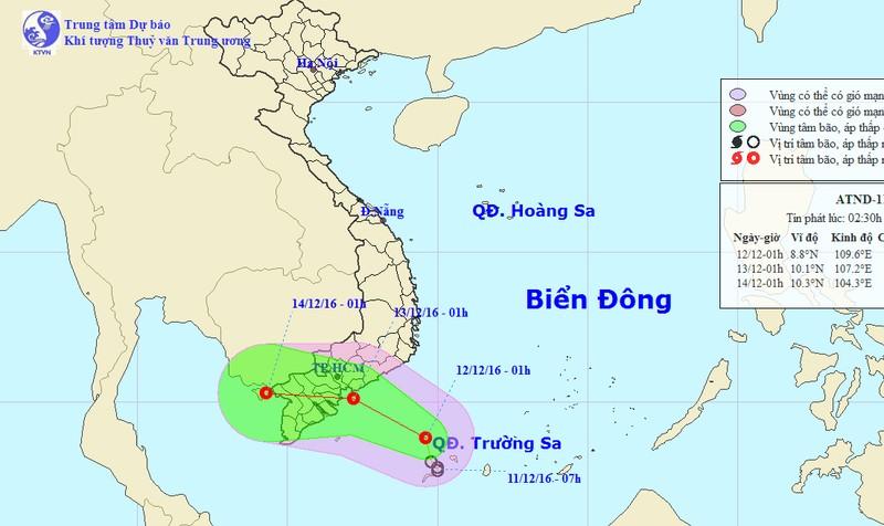 Tuần này Hà Nội lại rét đậm, TP HCM ứng phó áp thấp nhiệt đới