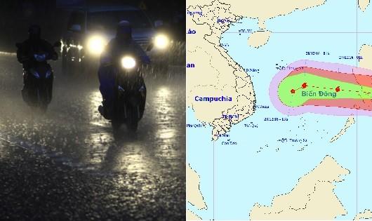 Đêm nay miền Bắc mưa rét, biển Đông khả năng bão đổ bộ