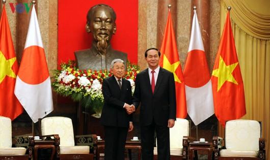 Việt Nam long trọng đón Vua và Hoàng hậu Nhật Bản