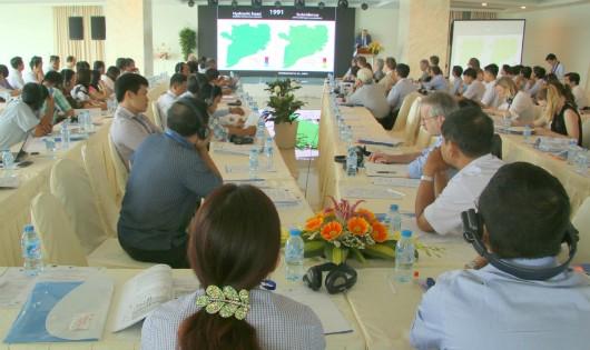 Chuyên gia trong và ngoài nước họp bàn xử lý sụt lún ở ĐBSCL