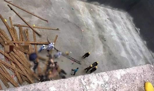 Sập giàn giáo nhà máy nhiệt điện Trung Quốc, ít nhất 9 người chết