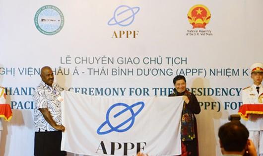 Việt Nam tiếp nhận chức Chủ tịch APPF