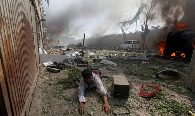 Đánh bom kinh hoàng gần Đại sứ quán Đức, 80 người chết, hàng trăm người bị thương