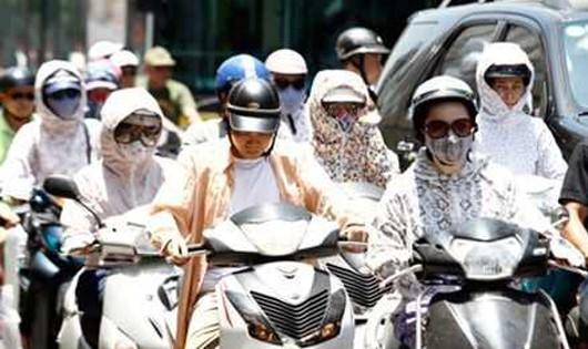 Ngày mai Hà Nội có thể nóng tới 41 độ C, đề phòng say nắng