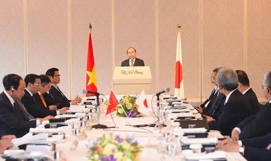 Thủ tướng sẵn sàng đối thoại với các nhà đầu tư Nhật tại Việt Nam