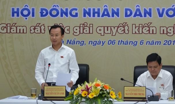 HĐND Đà Nẵng tiếp xúc trực tuyến cử tri gần 40 quận, huyện