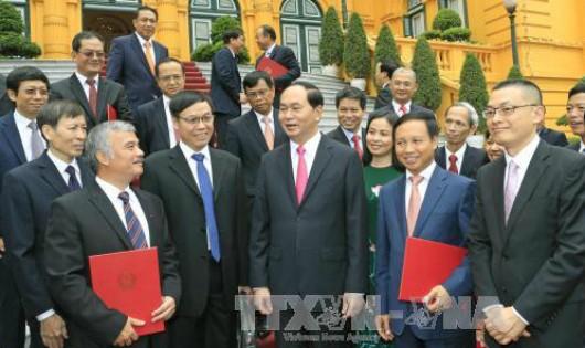 Trao Quyết định bổ nhiệm của Chủ tịch nước