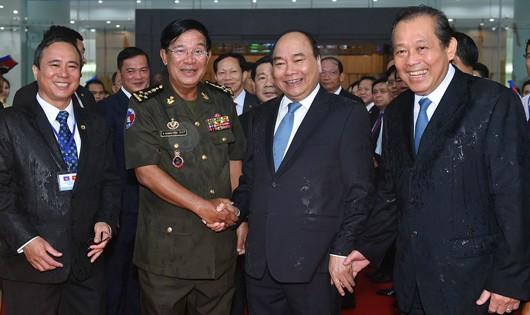 Vận mệnh hai dân tộc Việt Nam - Campuchia là không thể tách rời
