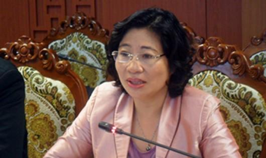 Thứ trưởng Bộ Xây dựng Phan Thị Mỹ Linh.
