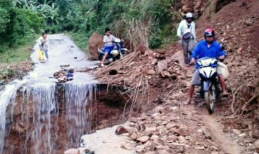 14 người chết, 1 người mất tích do mưa lũ, sạt lở ở miền Bắc