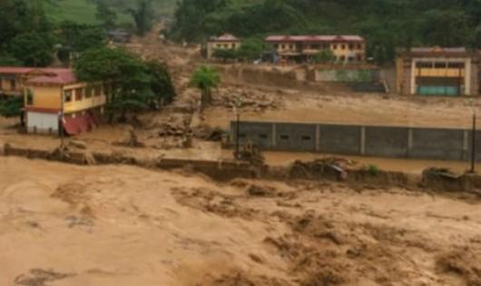 15 người thiệt mạng, 10 người mất tích do mưa lũ ở miền Bắc