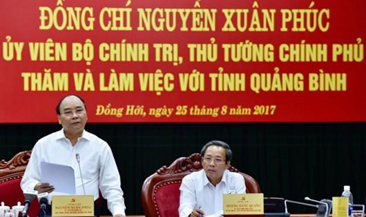 Thủ tướng định hướng đường đến thịnh vượng cho Quảng Bình