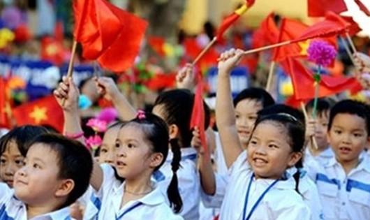 Sáng nay 22 triệu học sinh, sinh viên nô nức bước vào năm học mới