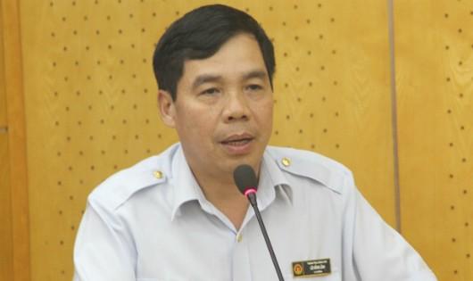 Ông Lê Hồng Lĩnh, Vụ trưởng Vụ Kế hoạch, Tài chính và tổng hợp, Người phát ngôn của Thanh tra Chính phủ.