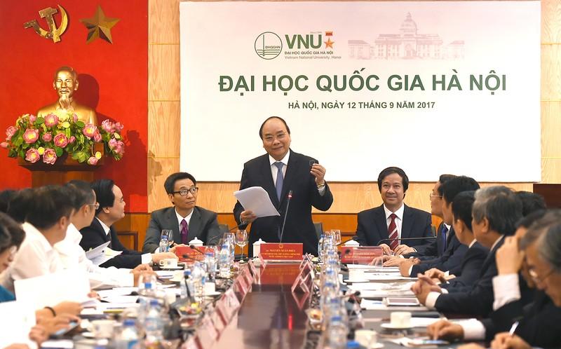Thủ tướng kỳ vọng xây dựng khu đô thị đại học mà ĐHQGHN làm nòng cốt