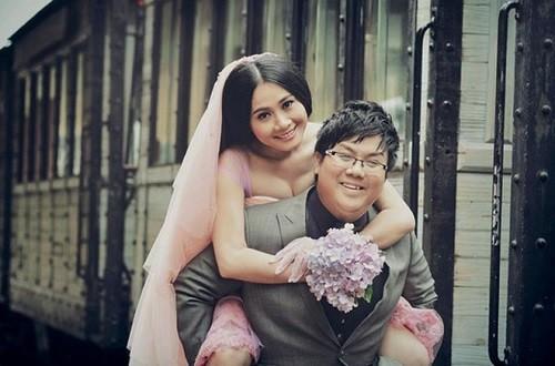 Ảnh cưới của Gia Bảo và Thanh Hiền.