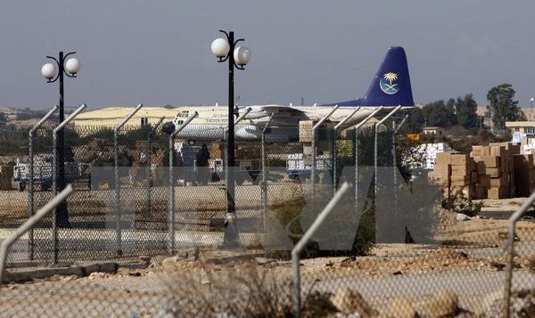 Quang cảnh sân bay Arish ngày 29/12/2008. (Nguồn: AFP/ TTXVN)