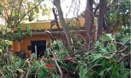 Bão gây nhiều thiệt hại ở Trường Sa, đang 'uy hiếp' Côn Đảo