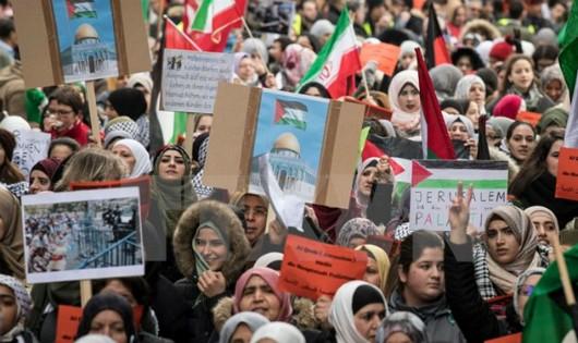 Đại hội đồng LHQ bác bỏ tuyên bố của Mỹ về vấn đề Jerusalem