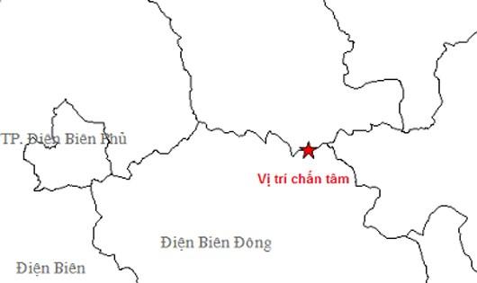 Động đất tại Điện Biên