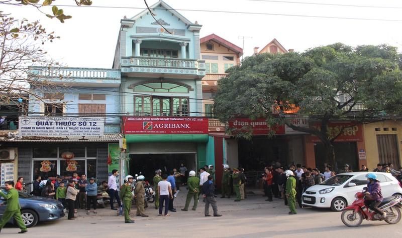 Thông tin mới nhất về vụ cướp ngân hàng táo tợn ở Bắc Giang