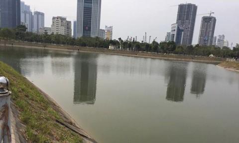 Khu vực hồ nơi xảy ra sự việc