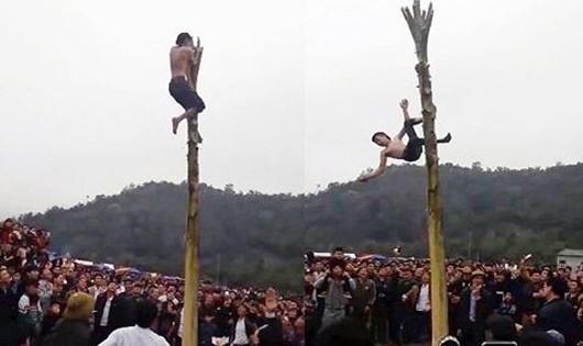 Leo cây chuối để lấy 150.000 đồng, nam thanh niên bất tỉnh