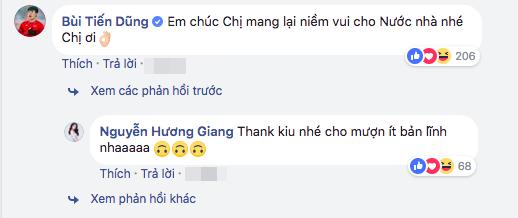 "bui tien dung u23 viet nam bat ngo ""nhan nhu"" huong giang idol hinh anh 2"