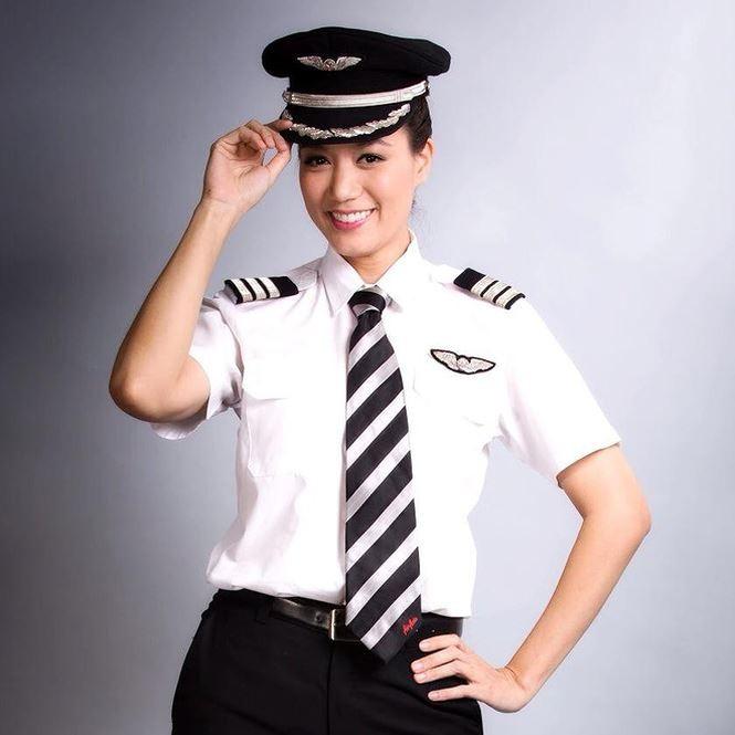 Hoa hậu bỏ showbiz làm cơ trưởng khiến MC Kỳ Duyên nể là ai? - ảnh 2