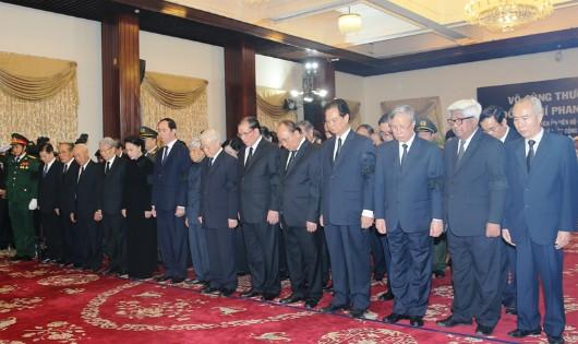 17.000 người đến viếng trong ngày đầu Lễ tang nguyên Thủ tướng Phan Văn Khải