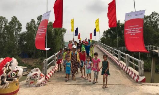 Khánh thành 7 cầu dân sinh mới tại huyện Hồng Ngự, tỉnh Đồng Tháp