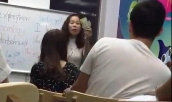 Giải thể trung tâm, phạt tiền cô giáo tiếng Anh lăng mạ học viên