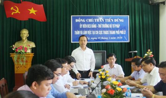 Thi hành án dân sự Hà Nam: Cần tiếp tục làm tốt công tác phối hợp