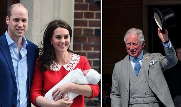 Trong khi chồng bận tham dự một sự kiện khác, Kate lại bận ở nhà chăm con, không thể đếntiệc sinh nhật bố chồng. Ảnh: Express.